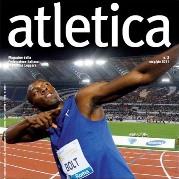 """Riviste sportive: """"Atletica - Magazine della Federazione Italiana di Atletica Leggera"""""""