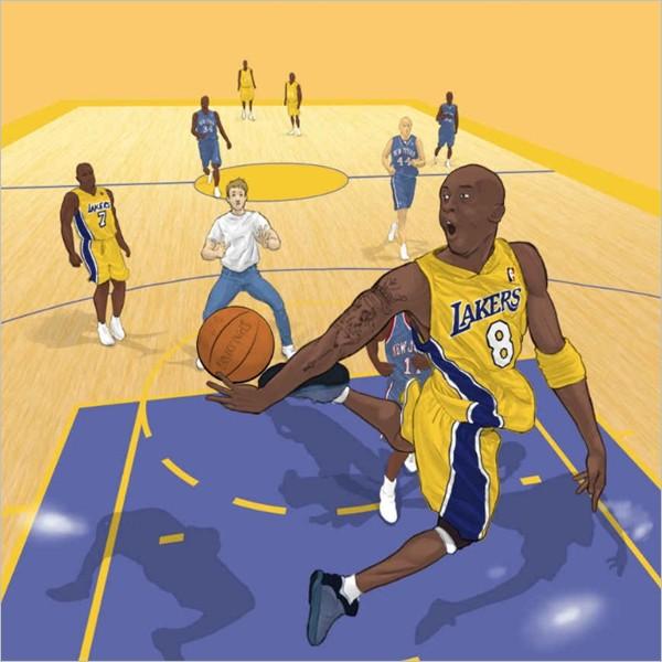 """""""Kobe passami la palla!"""" di Michele Ponte"""
