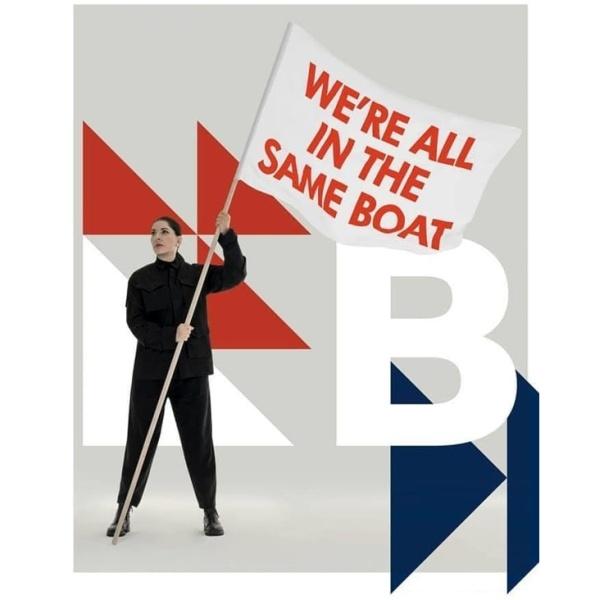 Marina Abramovic. We're all in the same boat / Siamo tutti sulla stessa barca