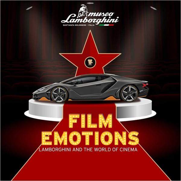 """""""Film Emotions"""": la mostra sulle Lamborghini del Cinema"""